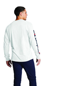 Polo m/larga para Hombre CHAMPION CLASSIC LONG SLEEVE TEE - GRAPHIC 045