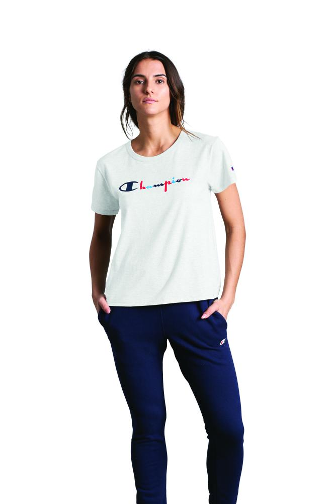Polo para Mujer CHAMPION THE ORIGINAL TEE - 3 COLOR SCRIPT 045