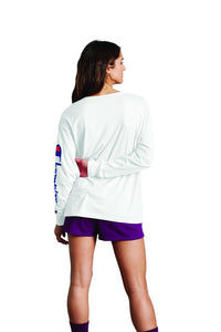 Polo m/larga para Mujer CHAMPION THE ORIGINAL LS TEE-DIRECT FLOCK SCRIPT 045