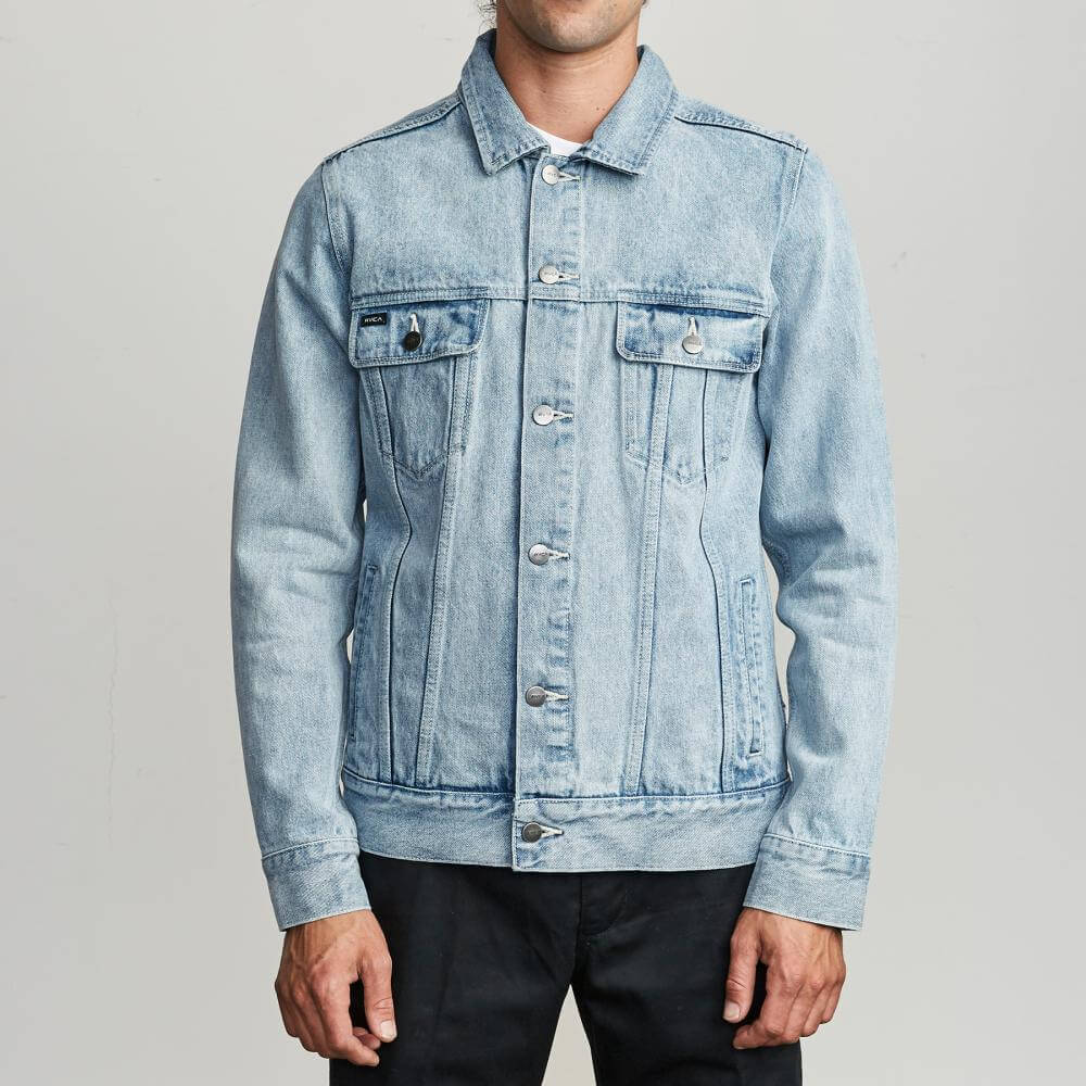 Casaca para Hombre RVCA MEDIUM DAGGERS DENIM JACKET BEP