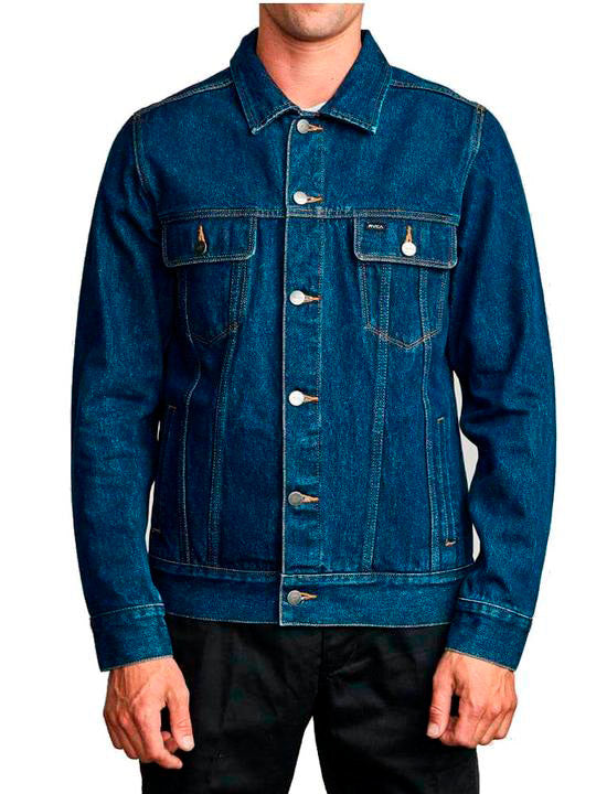 Casaca para Hombre RVCA MEDIUM DAGGERS DENIM JACKET RWU