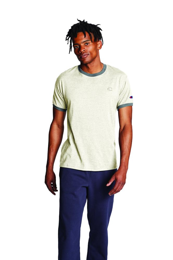 Polo para Hombre CHAMPION CLASSIC JERSEY RINGER TEE PQG