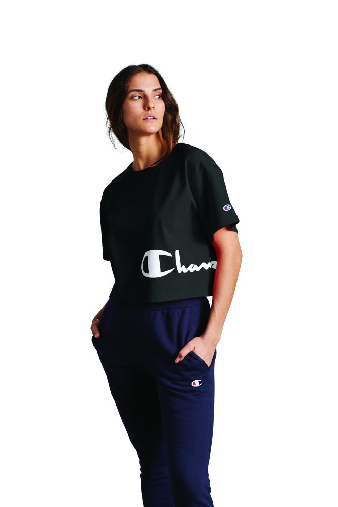 Polo para Mujer CHAMPION HERITAGE CROPPED TEE - GRAPHIC 003