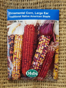 Ornamental Corn - Large Ear