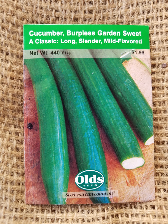 Cucumber - Burpless Garden Sweet