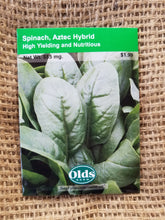 Load image into Gallery viewer, Spinach - Aztec Hybrid