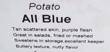 Load image into Gallery viewer, All Blue Seed Potato