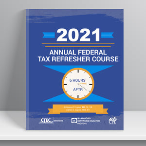 Annual Federal Tax Refresher