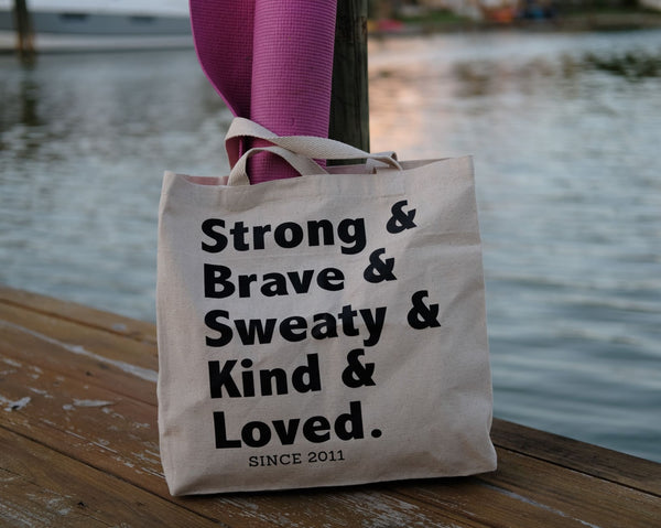 Sweat Like a Mother SLAM Mama Canvas Bag