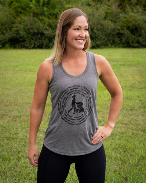 Stroller Strong Moms Affiliates Limited Edition Tri-Blend Racerback Tank