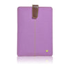 Light Purple Canvas 'Screen Cleaning' cover for Apple iPad mini sleeve case with protective antimicrobial lining