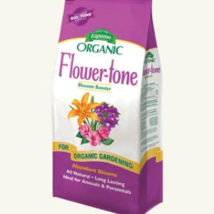 ESPOMA FLOWER TONE 4 LBS - Cross Creek Nursery & Landscaping