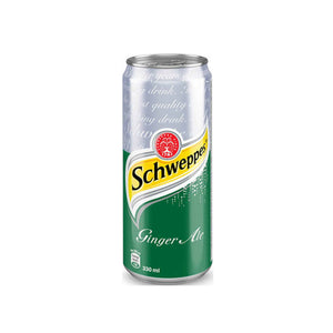 Schweppes Ginger Ale Can Drink 12 x 320ml