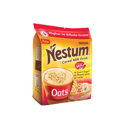 NESTUM 3in1 Cereal Drink Oats 18 x 30g