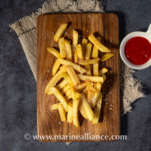Fries Straight Cut Thick 冰冻直切薯条 2.5kg per pack