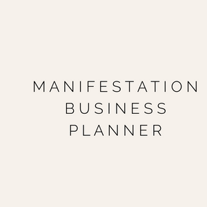 Manifestation Business  Planner