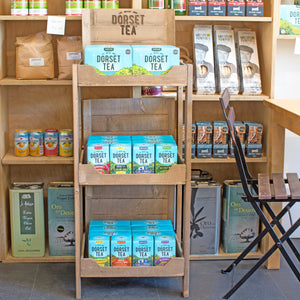 RUSTIC WOODEN FSDU RETAIL DISPLAY UNIT