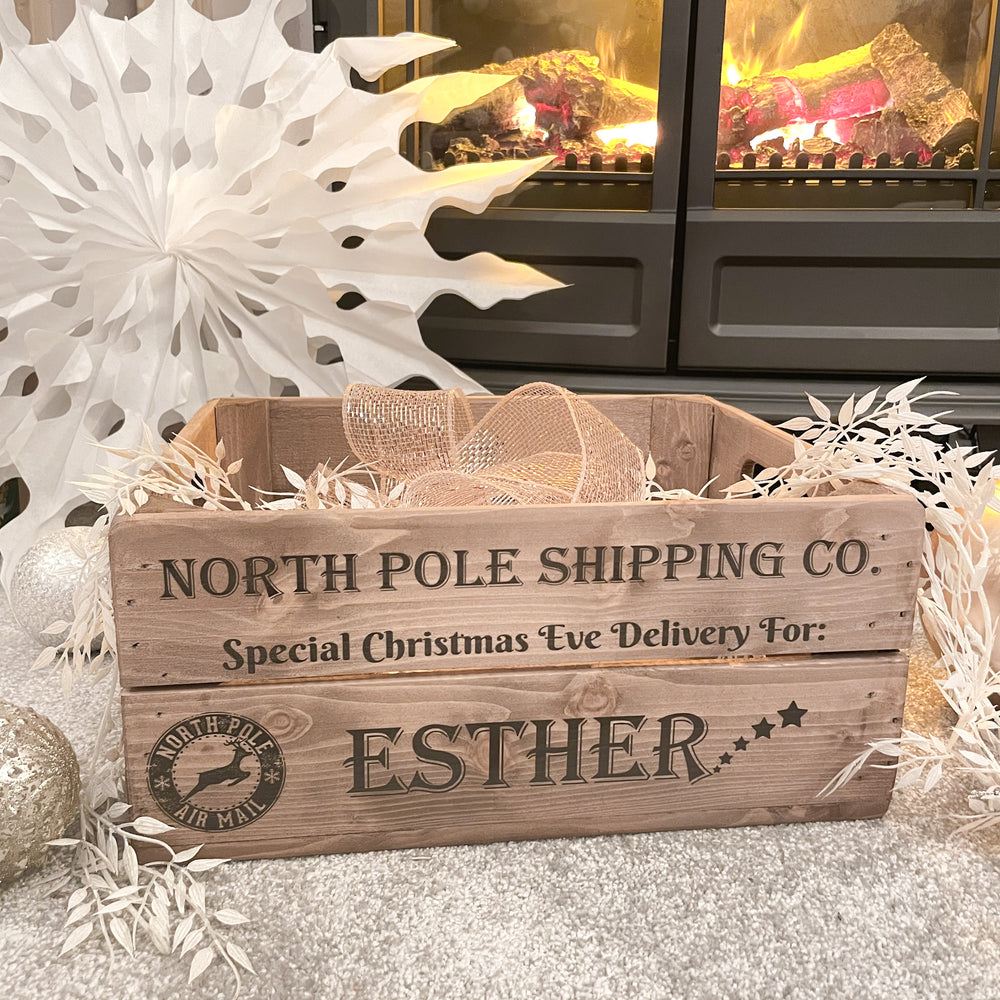 PERSONALISED CHRISTMAS EVE BOX -  2 DESIGNS AVAILABLE