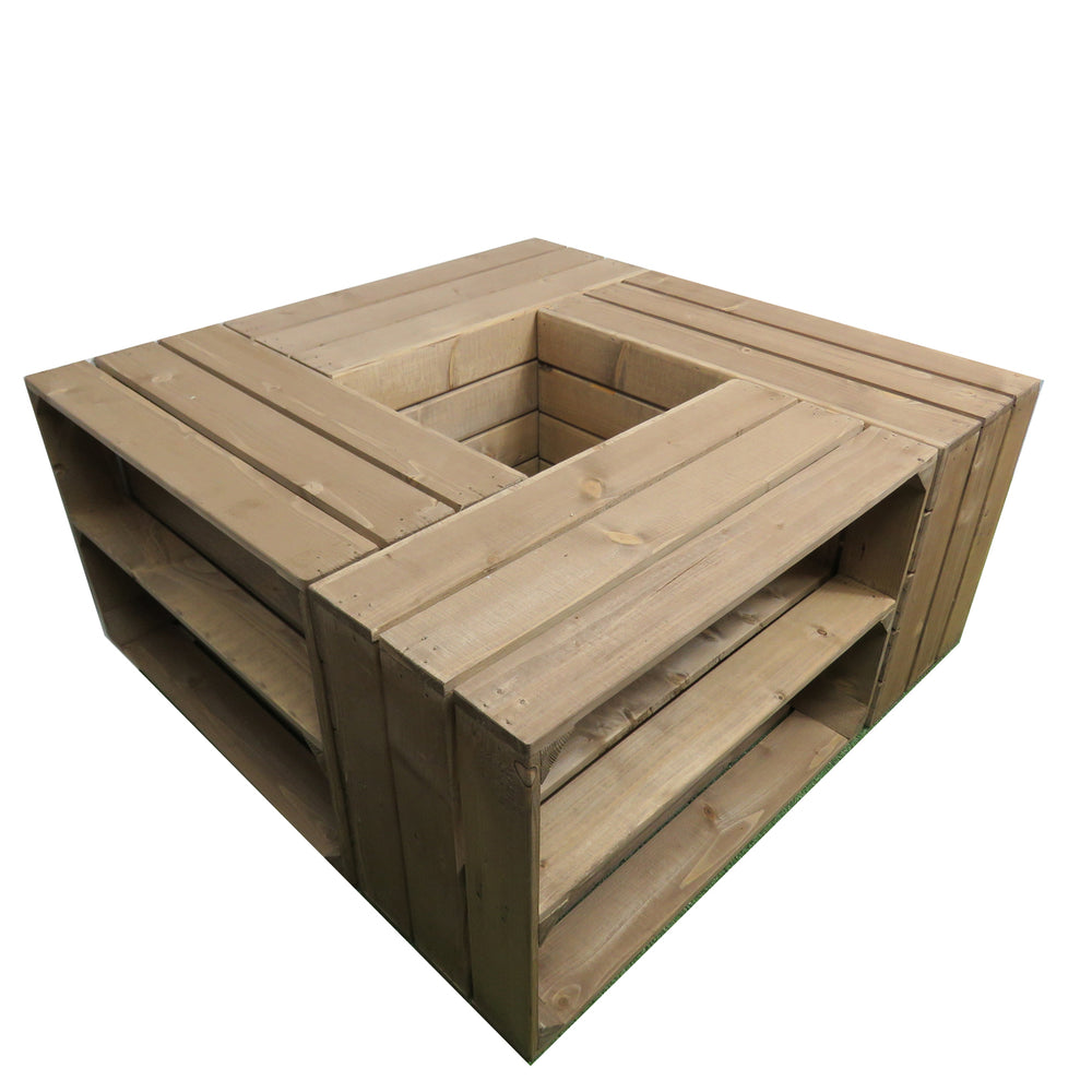 Load image into Gallery viewer, APPLE CRATE COFFEE TABLE COMBO