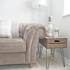 CRATE COFFEE SIDE TABLE