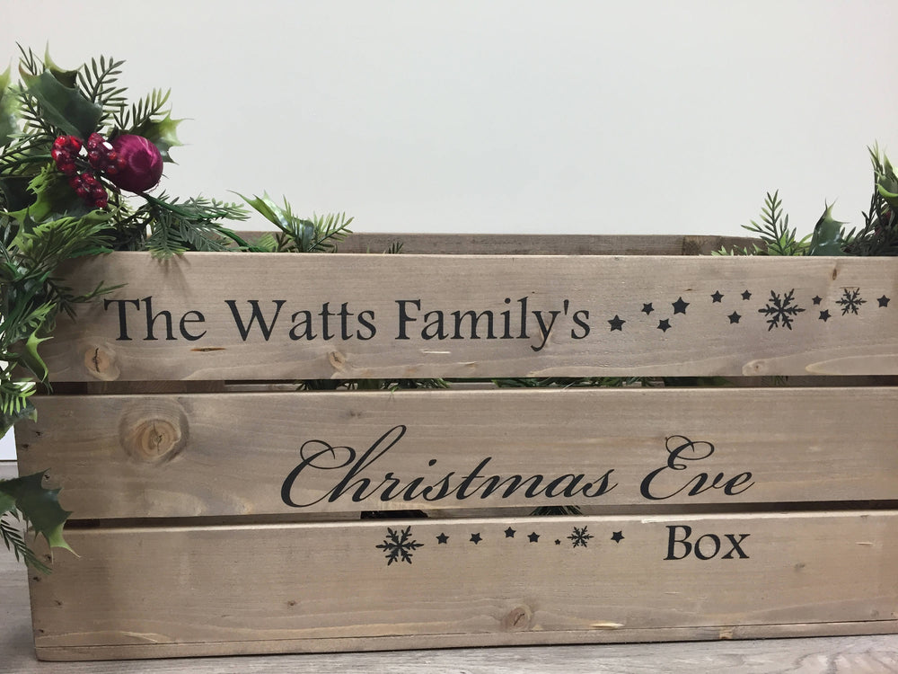 Personalised Christmas Eve Box - Large - 2 designs available
