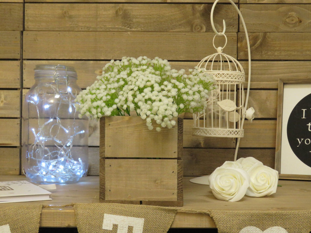 PERSONALISED WEDDING TABLE CENTREPIECE