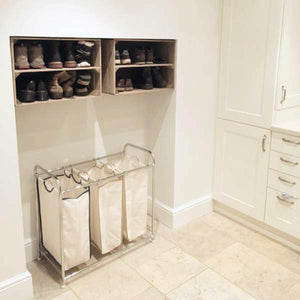 APPLE CRATE SHOE RACK