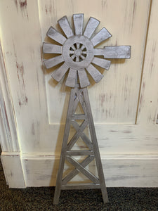 Wood Wall Windmill