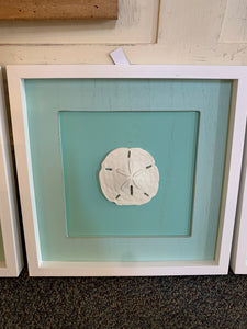Beach Aqua Shadow Boxes