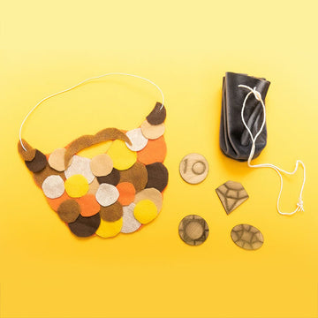 Pirate Beard and Booty Craft Kit - giggleandriotfun