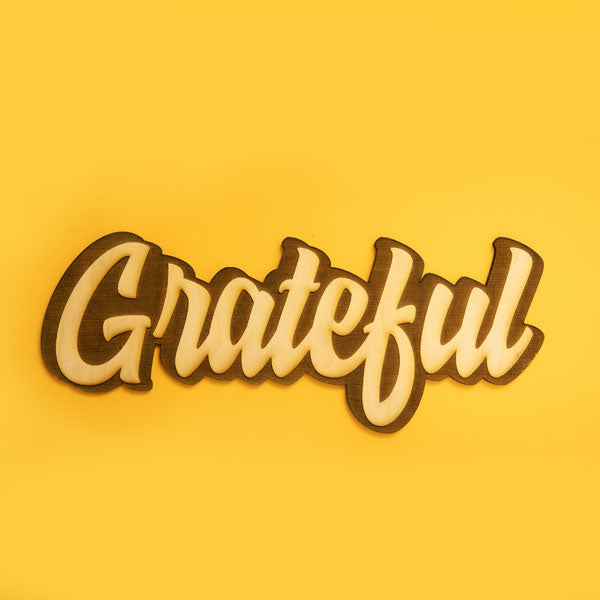 Project Gratitude Wood Grown Up Kit - giggleandriotfun