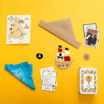 Pirate Activity and Craft Kits Bundle - giggleandriotfun