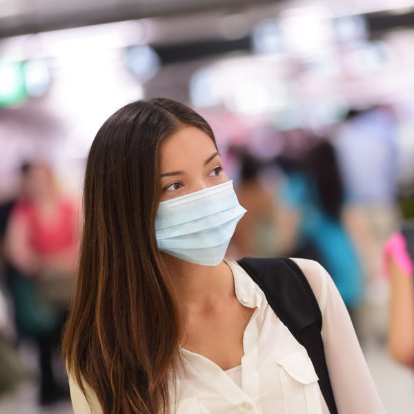 Disposable 3-Ply Face Masks