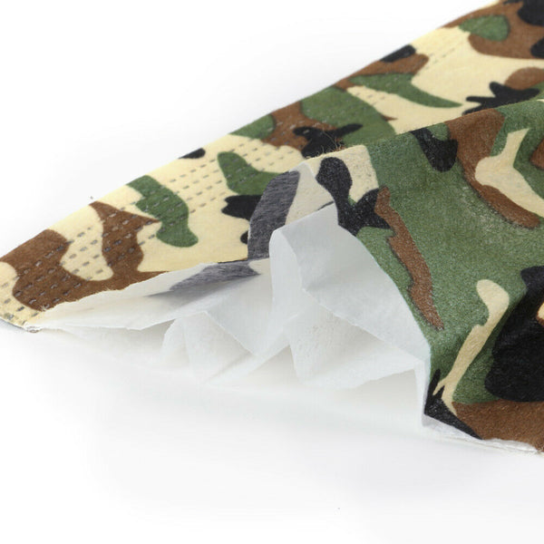 Camoflage Disposable 3-Ply Face Masks