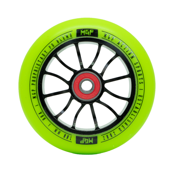 MGP 100MM MADD GEAR FORCE WHEEL GREEN