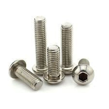 Wheels Manufacturing Button Socket Head Bolt Stainless (Each)