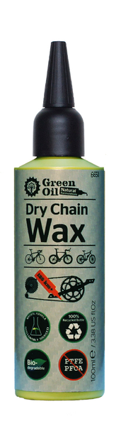 Green Oil Chain Lube Dry Wax 100ml