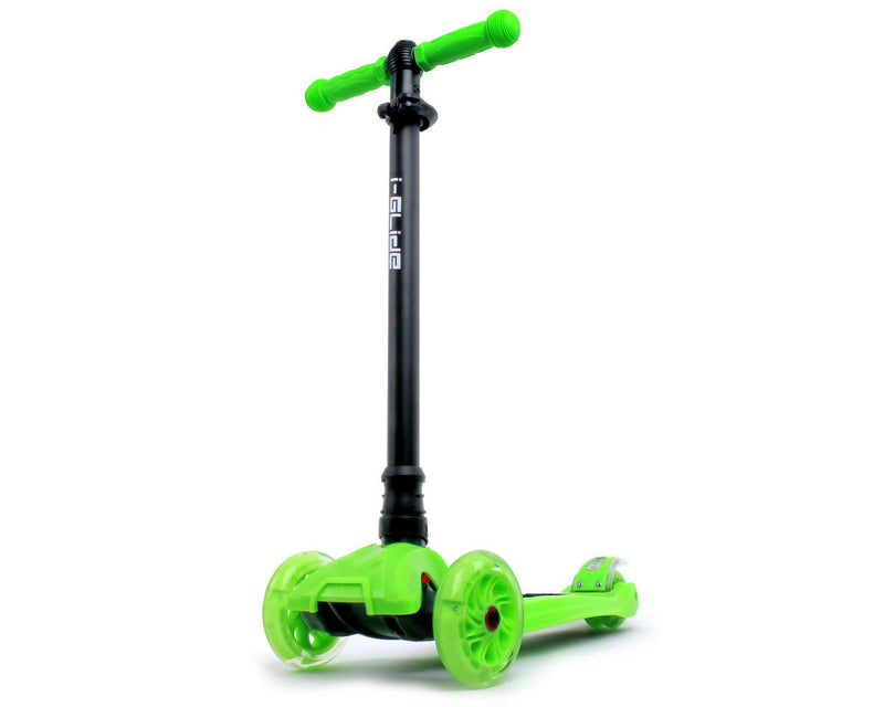 i-Glide 3 Wheeled Scooter Green