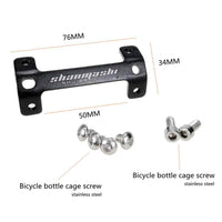 Double Bottle Cage Mount Adapter