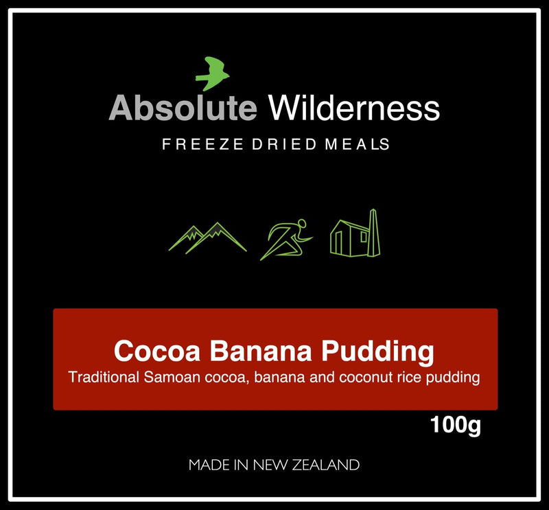 Absolute Wilderness Cocoa & Banana Pudding