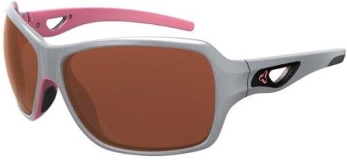 Ryders Caliber Anti-Fog Glasses Grey-Pink / Rose Lens Anti-fog