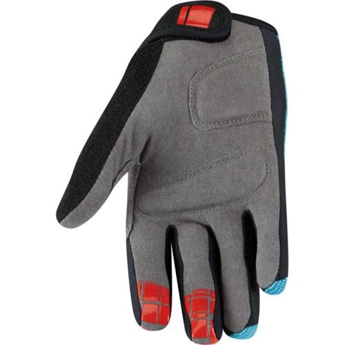Madison Trail Youth Blue Glove Rear