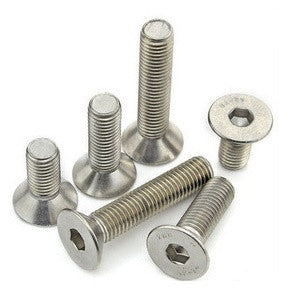 Wheels Manufacturing Flat Socket Head Bolt Stainless (Each)