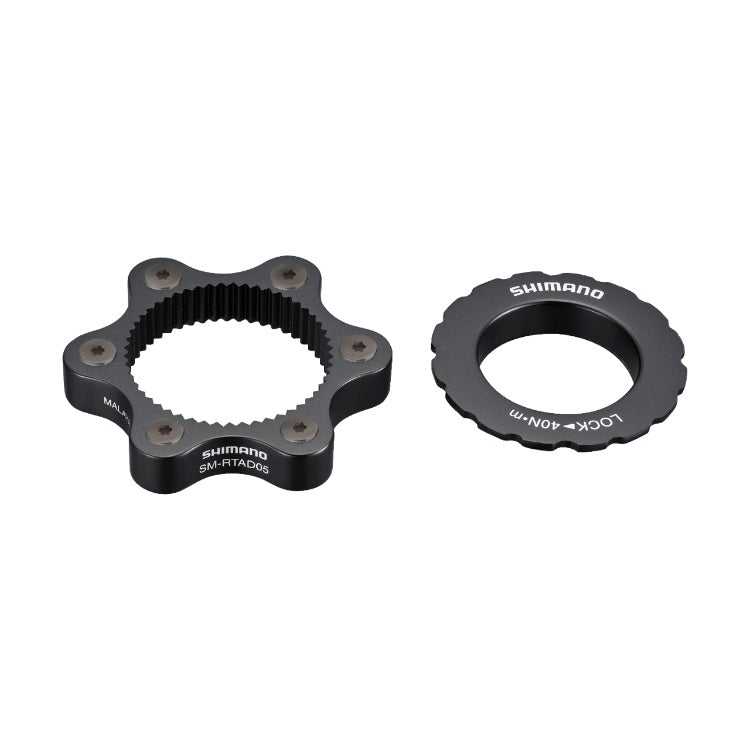 Shimano SM-RTAD ROTOR ADAPTER 6-BOLT TO CENTERLOCK MY2013