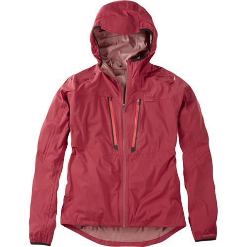 Madison Flux Mens Super Light Waterproof Softshell Blood Red Jacket Front