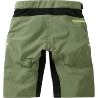 Madison Zena Womens Olive Green Shorts Rear