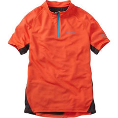 Madison Trail Short Sleeve Youth Red Jersey Front