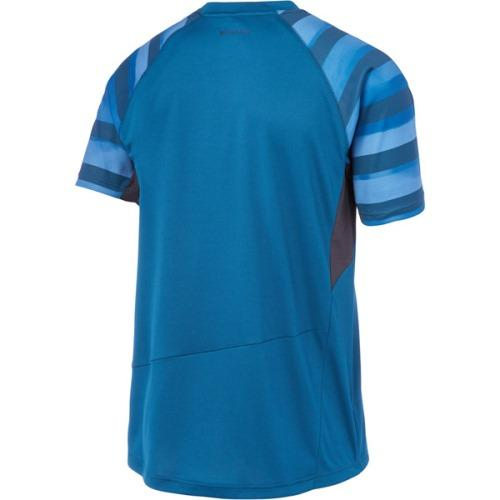 Madison Zenith Mens Haze Blue Short Sleeve Jersey Front