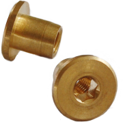 Nut Socket Cap Brass (Each)