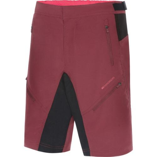 Madison Trail Womens Ink Classy Burgundy Shorts Front